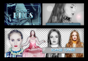 Pack Png 680 // Sophie Turner. by ExoticPngs