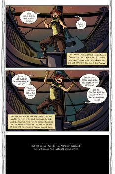 Hub: Page 1 by Snow the Wanderer by Drew-Writer