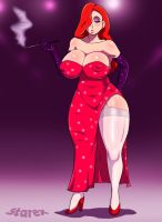 Jessica Rabbit by 5tarex