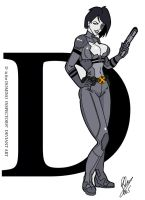 D is for Domino by Inspector97