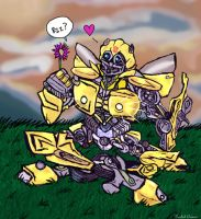 BumbleBee Is Love by elleprimadonna
