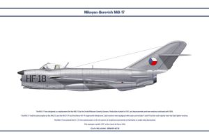 MiG-17 Czech 1 by WS-Clave