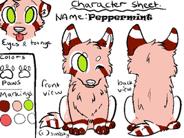 Peppermint Reference 2014 by SplatterTheKitty