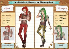 ISM- Fiche d'inscription by DarkQueen808