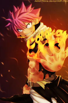 Natsu : Come On (Chapter 295) by AkilaChione