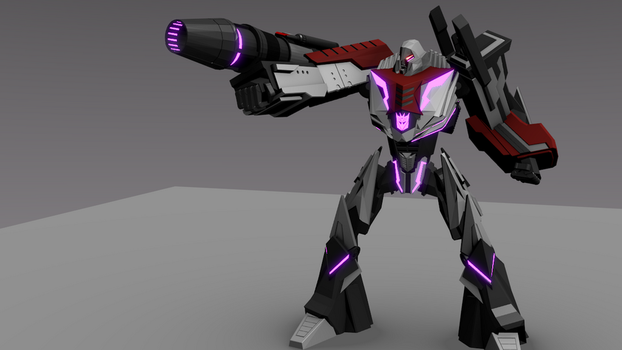 WFC Megatron- Charging cannon by ShadowElite217