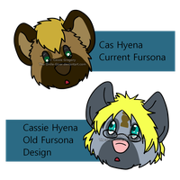 Current and Old First Design by The-Smile-Giver