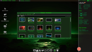 green tech linux by GuiDoctor