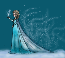 Frozen : Elsa (Finish) by Miiiiiiimi