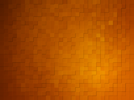 Orange Squares by Mlsandahl