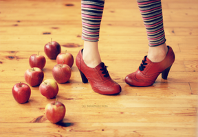 Dances with Apples by bebefromtheblock