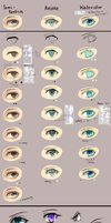 Eye Coloring Tutorials by Pupinta