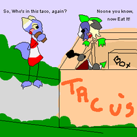 Whos our taco meat by creamofpanda