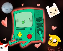 Everyone Loves BMO! by rose0fox