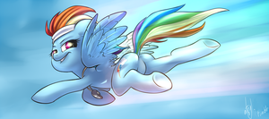 Rainbowbutt by atryl