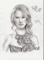 Taylor Swift Drawing by AgentButt-Kick