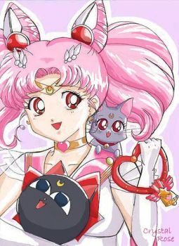 Sailor Chibi Moon by redheaded-step-child