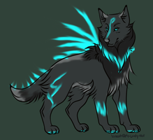 Wolf auction by NeonkaiAdopts