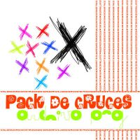 pack de cruces png by totallyamazing