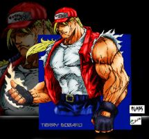 Terry Bogard by NAR by coatlquetzali