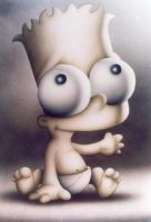 Bart Simpson Baby by Bler92