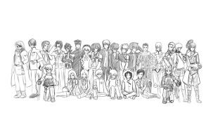 Shin Megami Tensei Tribute (SKETCH) by juli12355