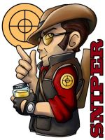 TF2 Sniper by ScuttlebuttInk