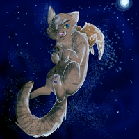 Honeyfern in StarClan by Stripeh