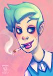 smokin by slither-astray