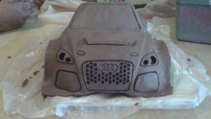 Audi TT RS unfinished by wormyish
