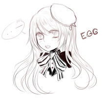 eggy sketch by akiicchi