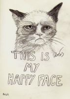 Grumpy Cat by ur-a-baka95