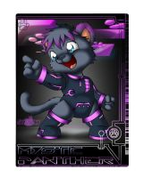Mystic Panther Tron Tag by Tavi-Munk