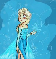 The cold never bothered me anyway~ by bee-chan1