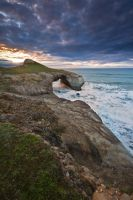 Tunnel Beach by chrisgin