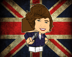 Harry Styles One Direction by randyfivesix