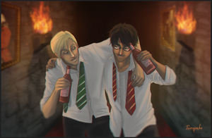 You're not so bad after all, Potter. by Isi-Angelwings