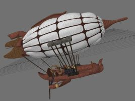 Airship WIP 2 by Meloncov