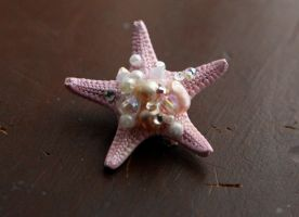 Petite Pink Pearl Sea Star by TheRealLittleMermaid