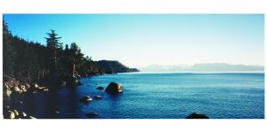 Tahoe Shore by NVMTNGOAT