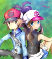 pokemon black white by bizuck