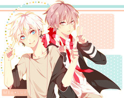 Reo and Ryo again [Speedpaint] by Meeluf