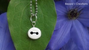 Baymax Charm by BeppasCreations