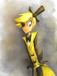 Bill Cipher by RiaFire