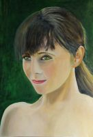 tamsin in oil paint by adamgrant67