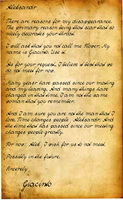 Giacinto's Letter by darkeninglight666