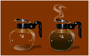 coffee carafes by QuicheLoraine