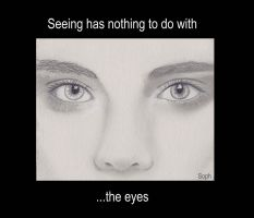 The Eyes by SophlyLaughing
