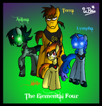 The Elemental Four by NeonCabaret