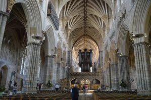 Exeter Cathedral by Clangston